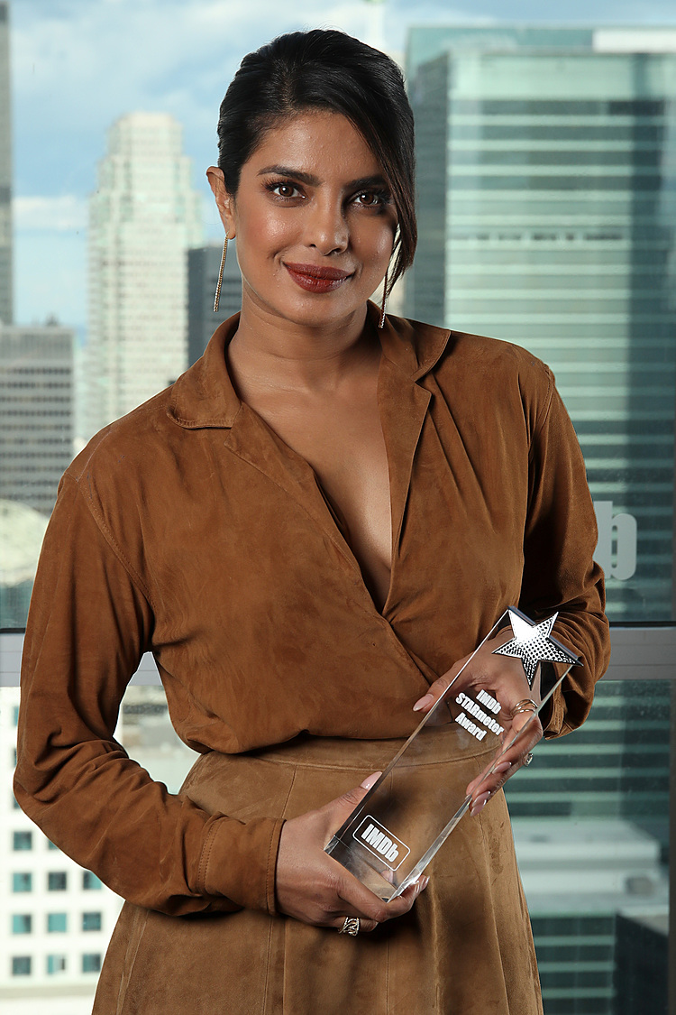 Samoa Observer   Priyanka Chopra Jonas Receives the IMDb
