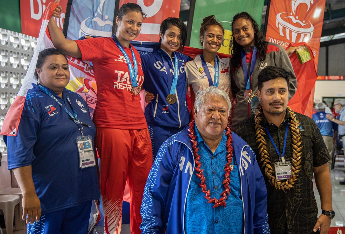 Samoa's Magnificent Seven Make History In